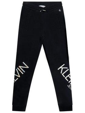 Calvin Klein Jeans Calvin Klein Jeans Spodnie dresowe Hero Logo IG0IG00556 Czarny Regular Fit