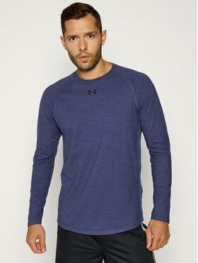 Under Armour Under Armour Тениска от техническо трико Charged Cotton® 1351577 Тъмносин Regular Fit