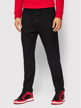 United Colors Of Benetton United Colors Of Benetton Spodnie dresowe 49GCUF00H Czarny Relaxed Fit