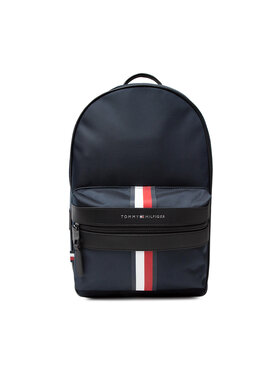 Tommy Hilfiger Tommy Hilfiger Ruksak Elevated Nylon C Backpack AM0AM07588 Tamnoplava