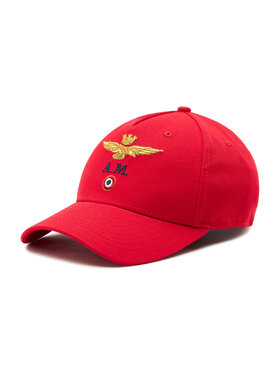 Aeronautica Militare Aeronautica Militare Șapcă 211HA1072CT2848 Roșu