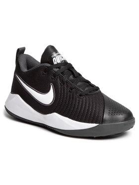 Nike Nike Boty Team Hustle Quick 2 (Gs) AT5298 002 Černá