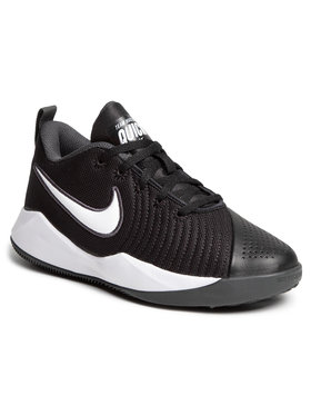Nike Nike Buty Team Hustle Quick 2 (Gs) AT5298 002 Czarny