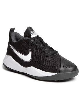 Nike Nike Обувки Team Hustle Quick 2 (Gs) AT5298 002 Черен