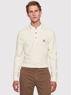 Boss Boss Polo Passerby 50387465 Beżowy Slim Fit