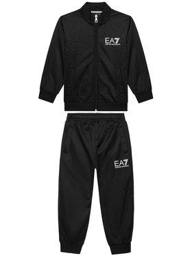 EA7 Emporio Armani EA7 Emporio Armani Dres 3KBV53 BJ08Z 1200 Czarny Regular Fit