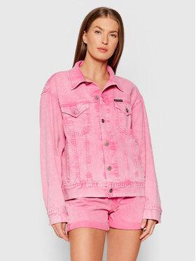Calvin Klein Jeans Calvin Klein Jeans Kurtka jeansowa J20J216146 Różowy Regular Fit