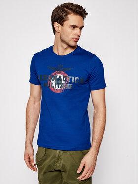 Aeronautica Militare Aeronautica Militare T-shirt 211TS1843J511 Bleu marine Regular Fit