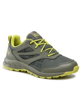 Jack Wolfskin Jack Wolfskin Трекінгові черевики Woodland Low K 4042171 Зелений