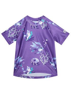 Reima Reima Maudymosi marškinėliai Pulikoi 516566 Violetinė Slim Fit