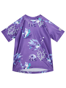 Reima Reima Тениска за плуване Pulikoi 516566 Виолетов Slim Fit
