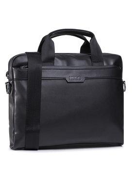 Hugo Hugo Чанта за лаптоп Luxown P 50445801 Черен