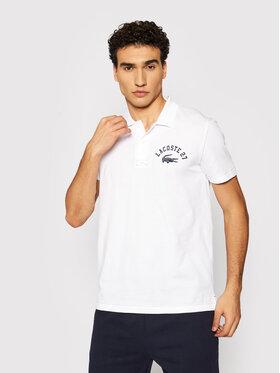 Lacoste Lacoste Polo marškinėliai YH0028 Balta Regular Fit