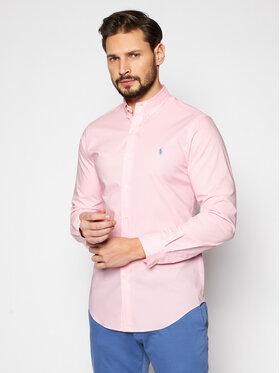 Polo Ralph Lauren Polo Ralph Lauren Košeľa Slbdppcs 710812198007 Ružová Slim Fit