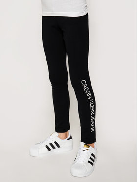 Calvin Klein Jeans Calvin Klein Jeans Leggings Logo IG0IG00740 Noir Slim Fit