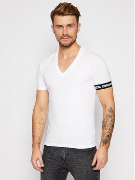 Dsquared2 Underwear Dsquared2 Underwear T-Shirt D9M453190 Λευκό Regular Fit