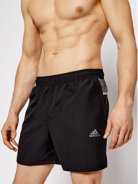 adidas adidas Pantaloni scurți pentru înot Colorblock 3-Stripes GM2243 Negru Regular Fit