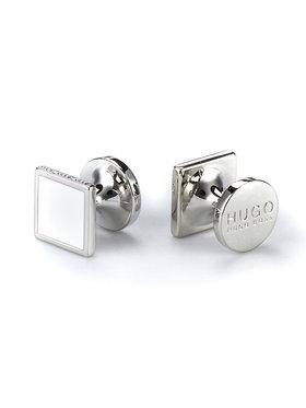 Hugo Hugo Spinki do mankietów E-Tokeep 50316088 Srebrny