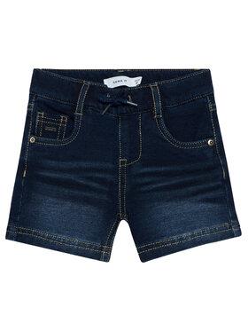 NAME IT NAME IT Džínsové šortky Ryan 13185527 Tmavomodrá Regular Fit
