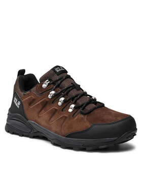 Jack Wolfskin Jack Wolfskin Παπούτσια πεζοπορίας Refugio Texapore Low M 4049851 Καφέ