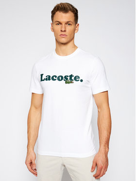 Lacoste Lacoste T-Shirt TH1868 Weiß Regular Fit