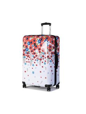 Saxoline Saxoline Nagy kemény borítású bőrönd Blessing L 1453H0.49.10 Fehér