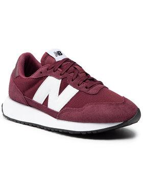 New Balance New Balance Sneakersy MS237CF Bordová