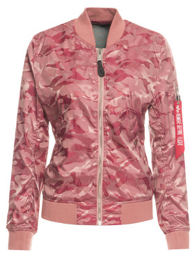 Alpha Industries Alpha Industries Blouson bomber Ma-1 Vflw Shiny Como 186014 Rose Slim Fit