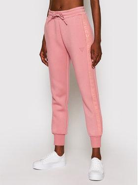 Guess Guess Teplákové kalhoty Allie O1GA49 KAMN2 Růžová Regular Fit