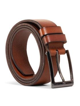 Gino Rossi Gino Rossi Pánský pásek AM0489-CON-BG00-3300-W Hnědá