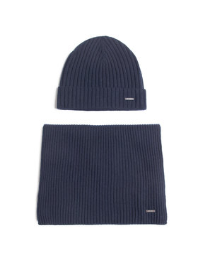 Joop! Joop! Комплект шал и шапка 17 Jb-02 Farello 10009776 Тъмносин