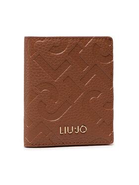 Liu Jo Liu Jo Mali ženski novčanik Ecs Xs Bifold AF1192 E0538 Smeđa