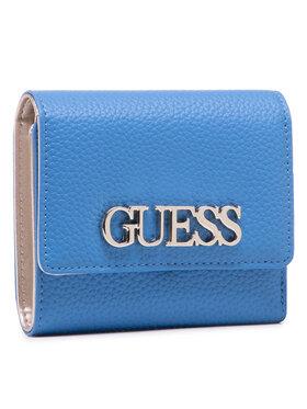 Guess Guess Velká dámská peněženka Uptown Chic (Vg) Slg SWVG73 01430 Modrá