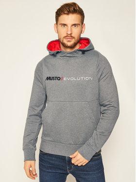 Musto Musto Džemperis Evo Logo 82043 Pilka Regular Fit