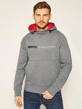 Musto Musto Μπλούζα Evo Logo 82043 Γκρι Regular Fit