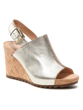 Clarks Clarks Sandale Flex Stitch 261574214 Auriu