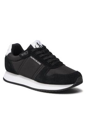 Calvin Klein Jeans Calvin Klein Jeans Sneakersy Runner Laceup Sneaker Inst YW0YW00460 Černá