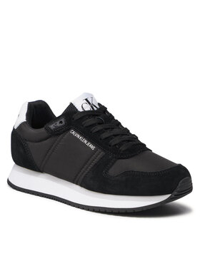 Calvin Klein Jeans Calvin Klein Jeans Sneakersy Runner Laceup Sneaker Inst YW0YW00460 Čierna