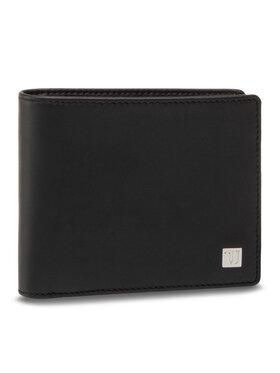 Trussardi Trussardi Portafoglio grande da uomo Wallet Credit Card Coin 71W00004 Nero