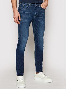 Calvin Klein Jeans Calvin Klein Jeans Džinsai J30J317658 Tamsiai mėlyna Skinny Fit
