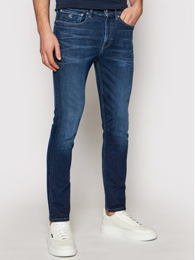 Calvin Klein Jeans Calvin Klein Jeans Farmer J30J317658 Sötétkék Skinny Fit