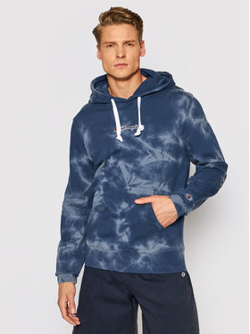 Champion Champion Džemperis Tie Dye 216160 Tamsiai mėlyna Comfort Fit