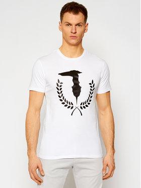 Trussardi Trussardi T-Shirt 52T00504 Bílá Regular Fit