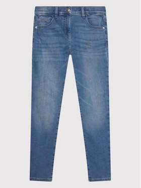 United Colors Of Benetton United Colors Of Benetton Jeansy 4TR757PP0 Niebieski Slim Fit