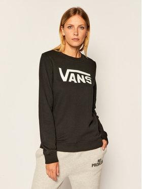 Vans Vans Sweatshirt Wm Classic V Crew VN0A4S97 Schwarz Regular Fit