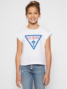 Guess Guess Marškinėliai J1RI26 K6YW1 Balta Regular Fit