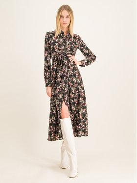 My Twin My Twin Sukienka koszulowa 201MP2371 Czarny Skinny Fit