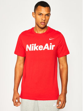 NIKE NIKE T-Shirt Air CK2232 Rot Standard Fit