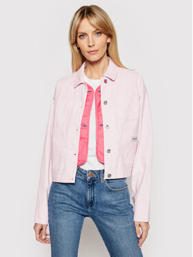 Converse Converse Giacca di jeans My Story Utility 10021081-A03 Rosa Regular Fit
