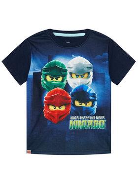 LEGO Wear LEGO Wear Marškinėliai 12010099 Tamsiai mėlyna Regular Fit